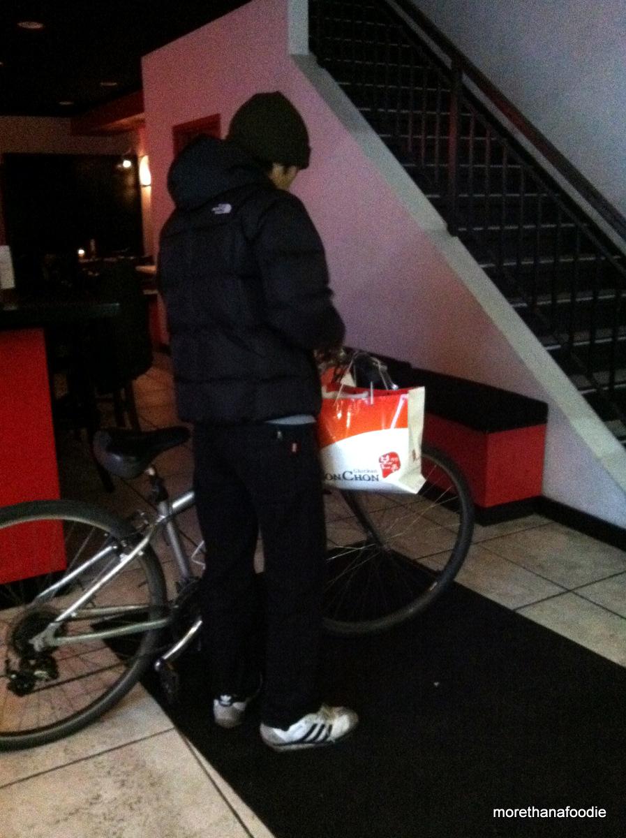 bon chon delivery bike