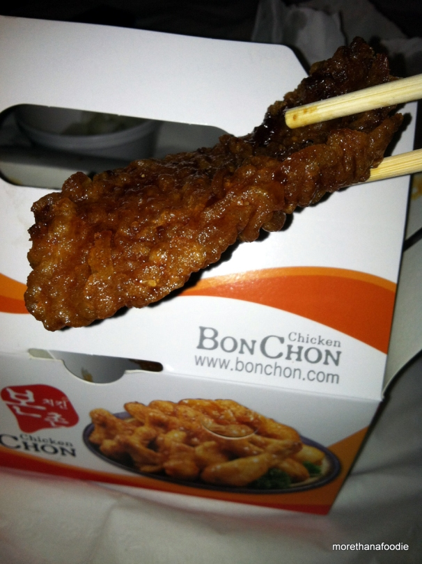 bon chon chicken chop stick