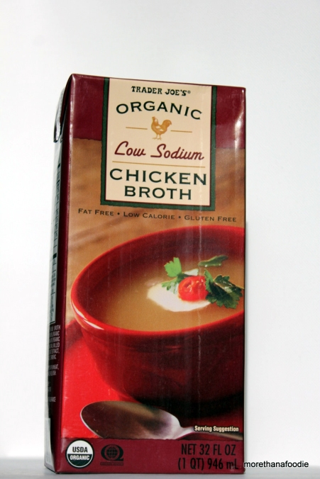 Trader Joes Low Sodium Chicken Broth