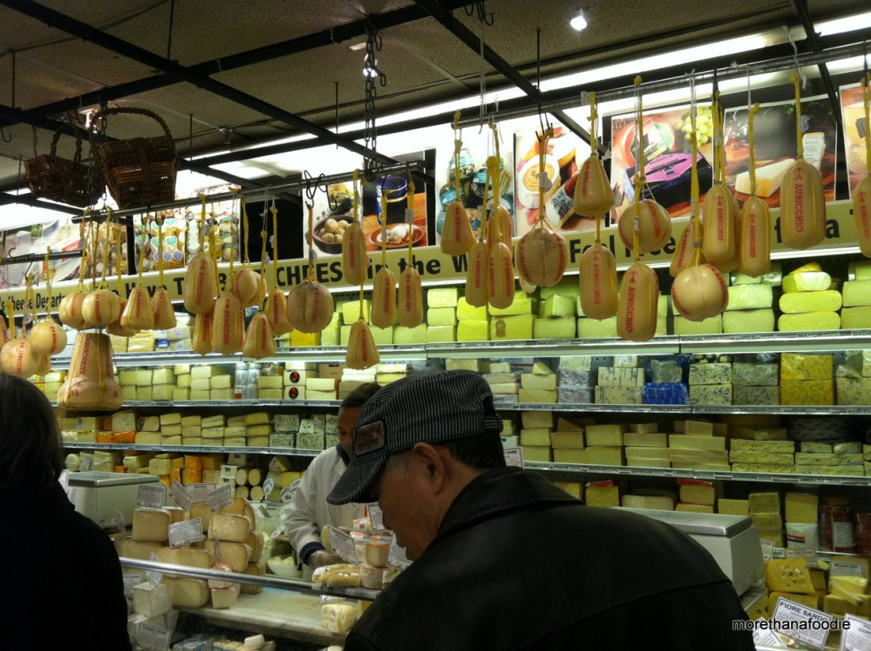 Zabars Cheese Counter