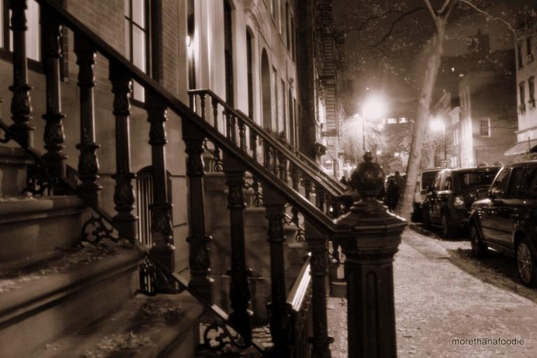 West Village NYC at Night