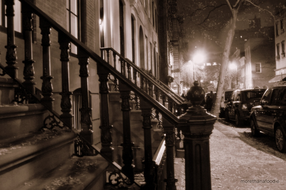 West Village NYC at Night