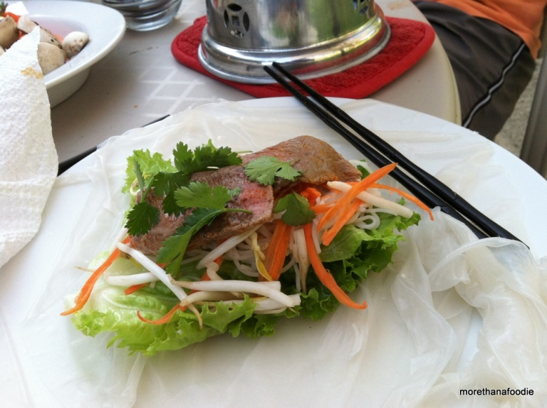 hot pot rice paper vietnamese