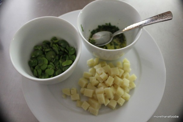 fava pecorino romano mint olive oil