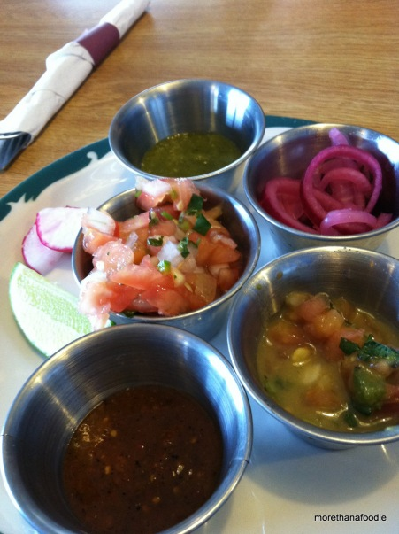 Taqueria Sonora Condiments West Des Moines