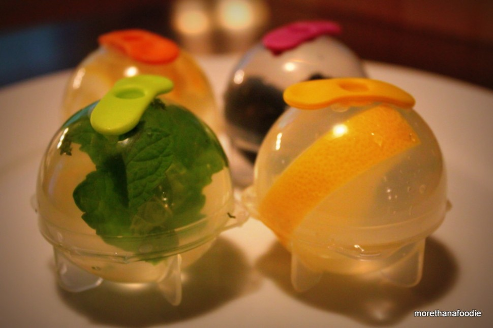 Ice ball molds