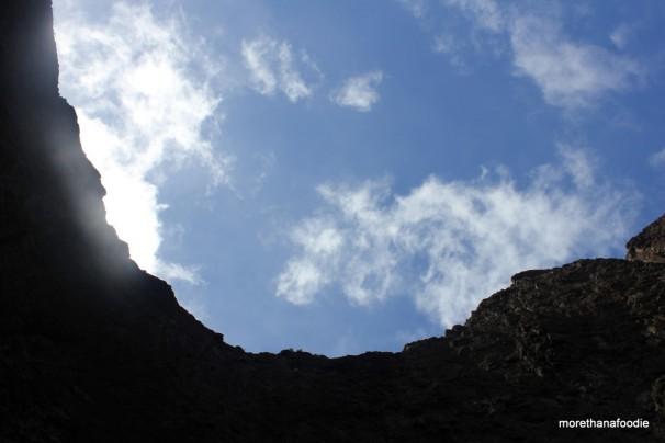 open ceiling cave kauai