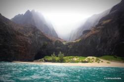 napali coast kauai hawaii beaches and mountains