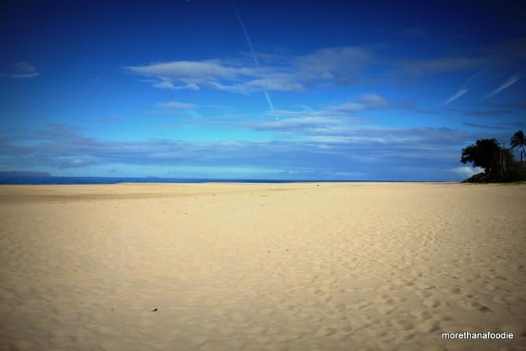 west coast kauai hawaii barking sands beach 2012