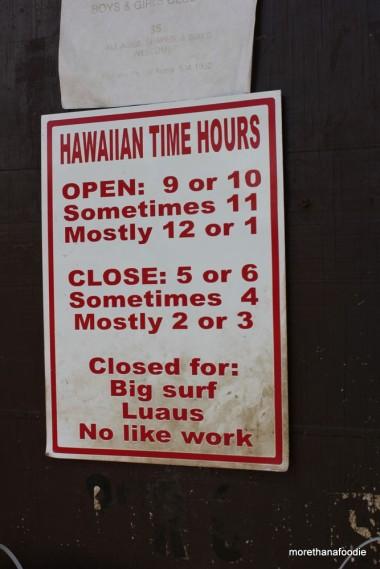 hawaiian time island time kauai