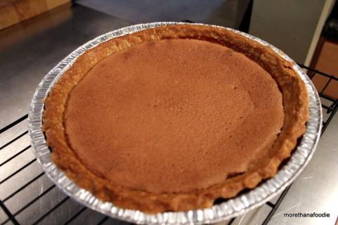 pie crust blind bake using beans