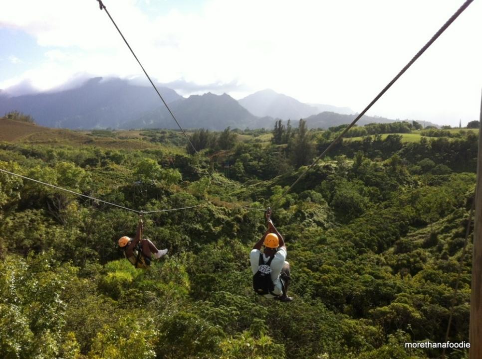 zip lines kauai hawaii
