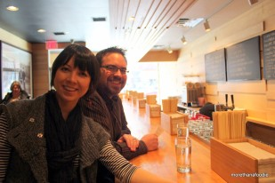 mandy and chad at momofuku noodle bar