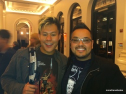 Kelvin and I after the show