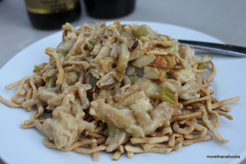 simple chicken chow mein