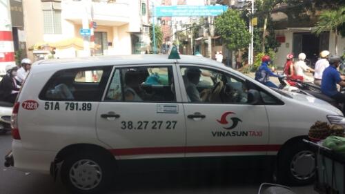 vinasun taxi ho chi minh city vietnam best taxi