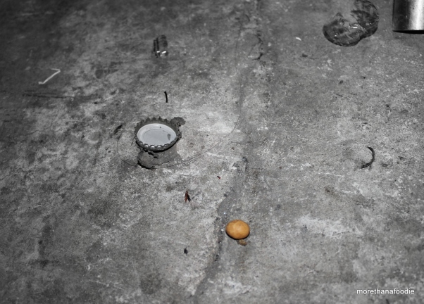 lonely dropped nut