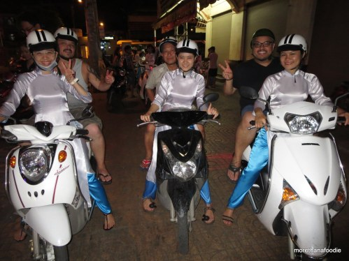 nguyens on our bikes with the girls