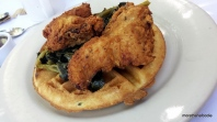 The Tropical Chicken and Waffles Palm Springs California