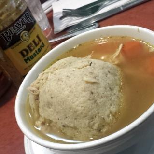 matzo ball soup shermans palm springs