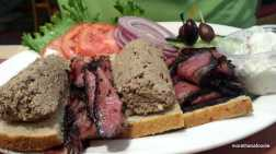 shermans deli palm springs california pastrami and liver platter