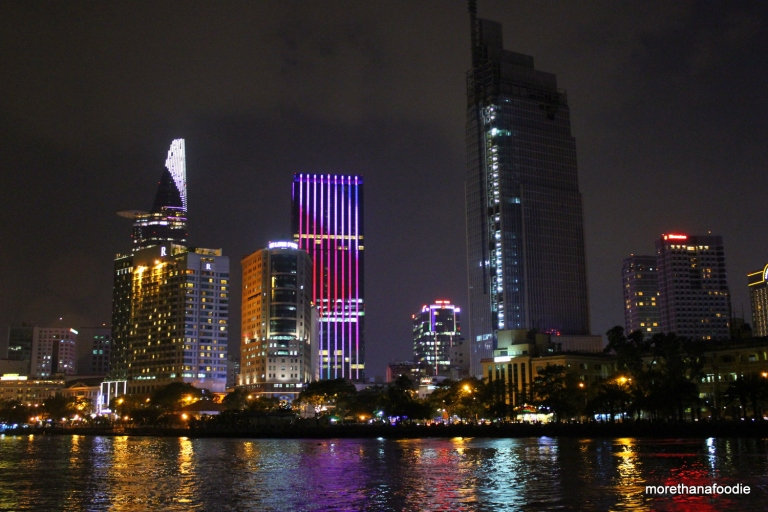 saigon hcmc ho chi minh city skyline night lotus tower bitexco center