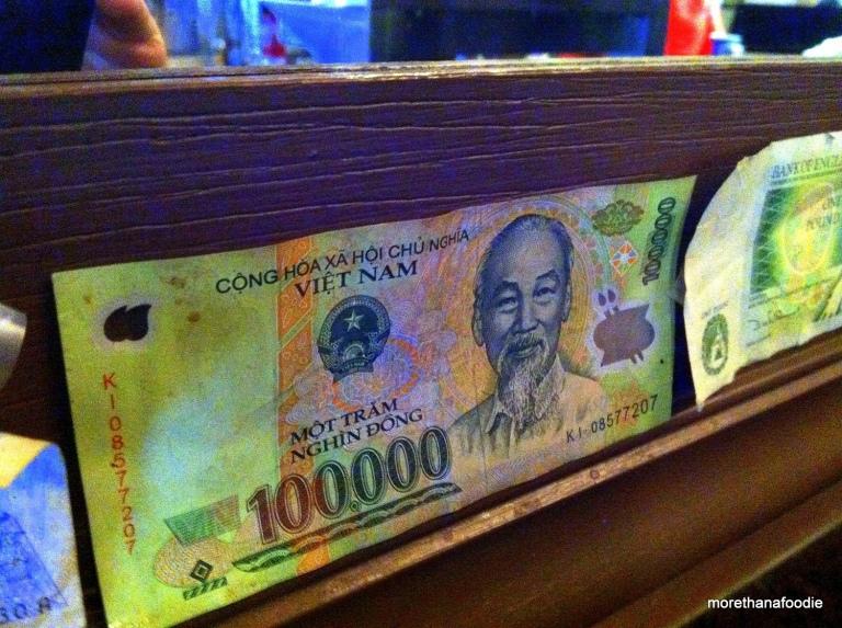 vietnamese 100,000 Dong