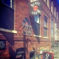 vinyl cafe ames iowa record store great coffee ISU