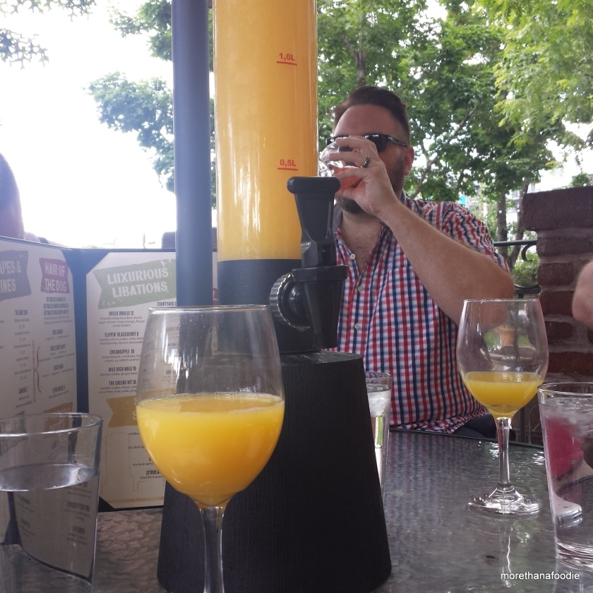 the lobby denver mimosa bottomless brunch