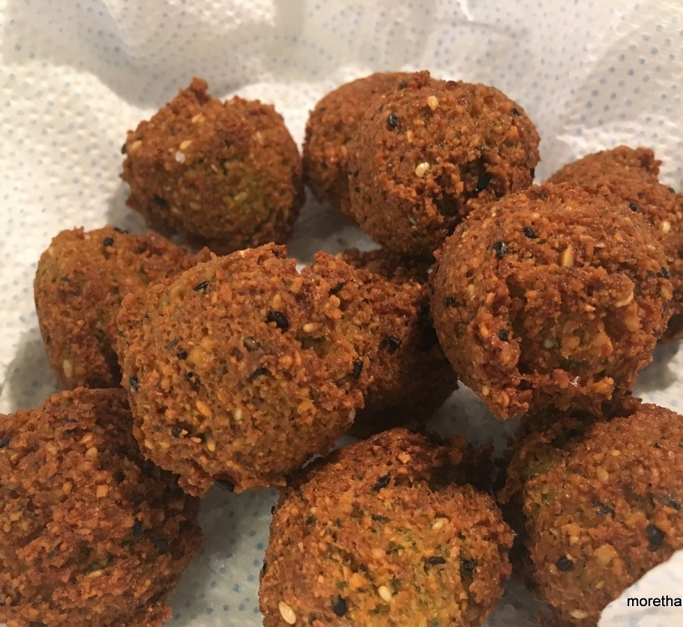homemade, falafel