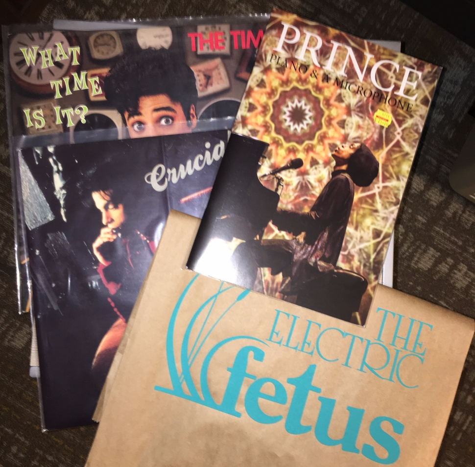 prince, crucial, the time, electric fetus, minneapolis, record store day