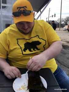 Kramer, iowa, bears, capital bears, mr iowa bear, tamales