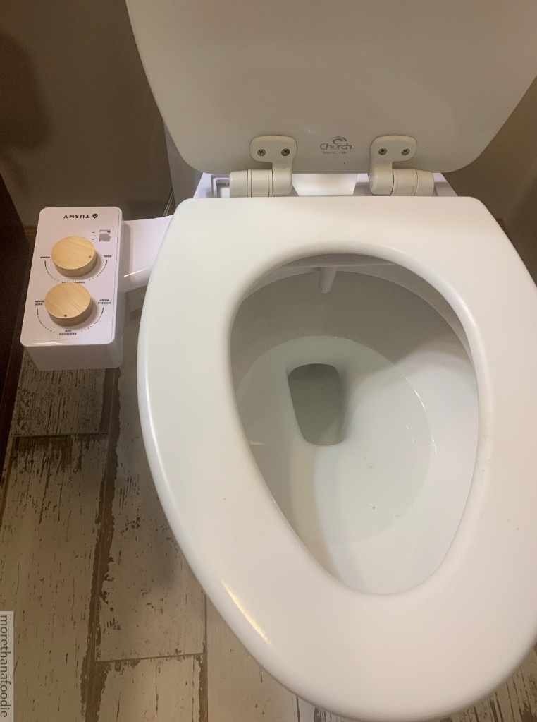 tushy spa installed