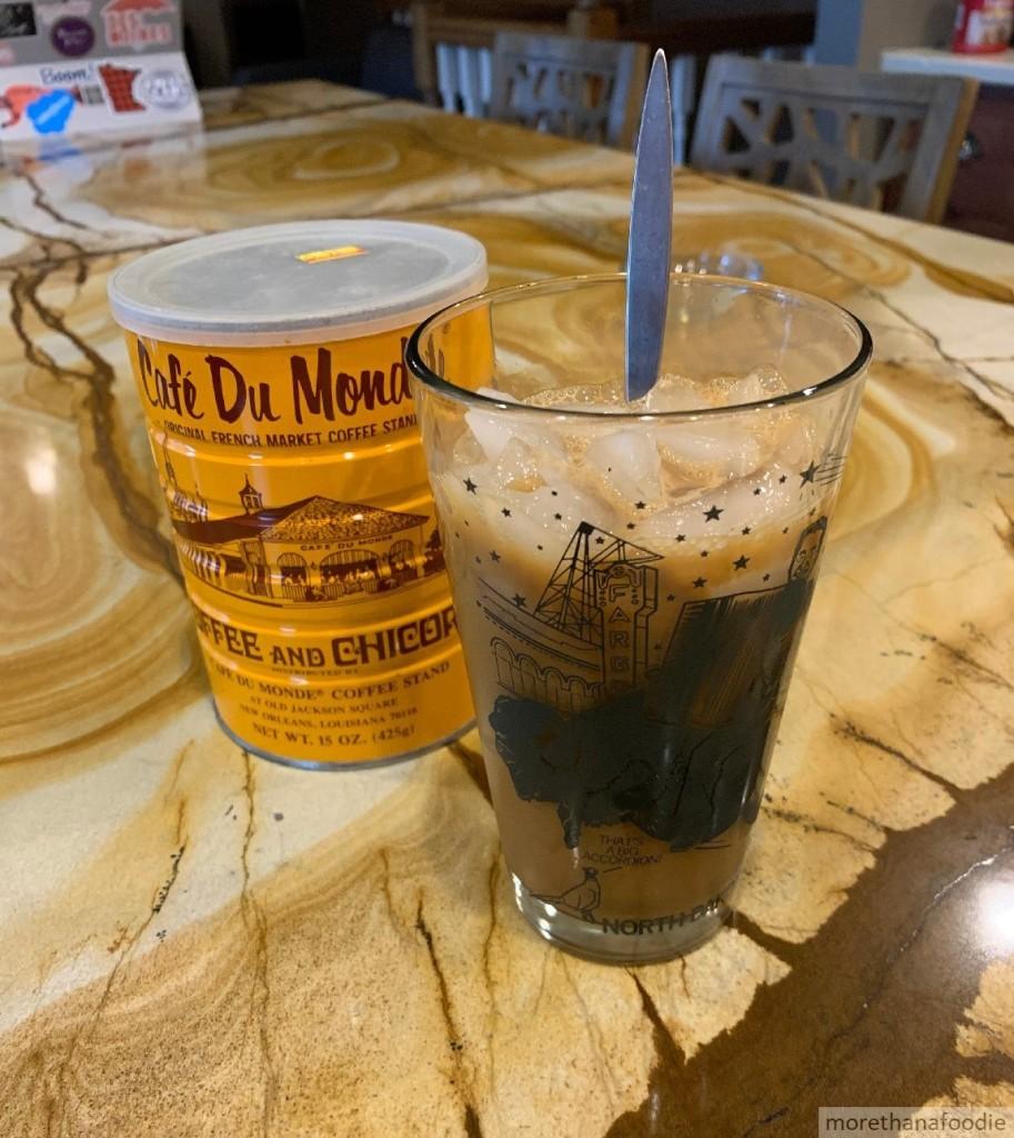 Vietnamese iced coffee (Cà phê sữa đá)